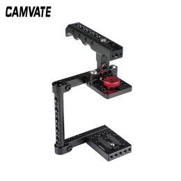 CAMVATE Cage Caméra simple Rig Top fromage poignée pour Canon M50 C2527 en Solde