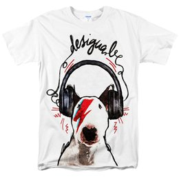 Discount panda t shirt men - zombie panda 2018 Mens tshirt English Bull Terrier T Shirt Short Sleeve Tops Cool Male Tee