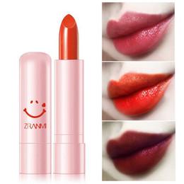 $enCountryForm.capitalKeyWord Australia - Fashion Cute Lipstick Lips Makeup Easy to Wear Long-lasting Natural Waterproof Lipsticks For All Skin Types Beauty Drop Shipping