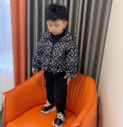 Wholesale Cute Spring Children Coat Autumn Kids Jacket Boys Outerwear Coats Active Boy Windbreaker Baby Clothes Clothing A01