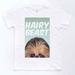 c896052852 CHEWBACCA HAIRY BEAST Jedi Wars Funny Retro Comic Wookie Star Movie T shirt  Funny free shipping Unisex Casual Tshirt