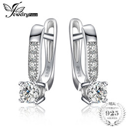 1f3e5d762 Jewelrypalace 1ct Cubic Zirconia Clip Earrings 925 Sterling Silver Wedding  Anniversary Jewelry For Women Fashion Party Gift C19041201