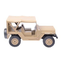 aircraft carrier toys UK - wholesale BG1522 1:14 4WD Off-road Vehicle Crawler RC Car New Year Gift - Yellow Green
