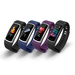 fitness watches for windows UK - Latest T8 Smart Bracelet IP68 Waterproof Heart Rate Sphygmomanometer Sleep Monitoring Information Display Fitness Sports Smart Watch