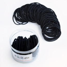 hair rubbers bands UK - New product listing rubber band korean style fashionable trendy wholesale custom elastic hair band hair accessory