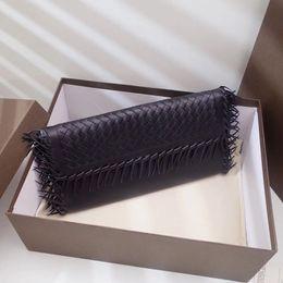 $enCountryForm.capitalKeyWord Australia - Wholesale Fashion Ma'am black walletl Sheepskin Leather Zip Around Wallet Hand Bag First Class Genuine Leather Long Wallet Good Card Purse