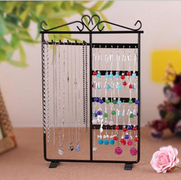 $enCountryForm.capitalKeyWord Australia - Metal Necklace Earring Display Stand Holder Rack For Jewelry Necklace Earring 1pcs lot DS5 Free Shipping