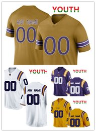 $enCountryForm.capitalKeyWord Australia - NCAA LSU Tigers jerseys Jontre Kirklin 13 Mannie Netherly 28 Grant Delpit 9 jersey MEN WOMEN YOUTH yellow purple White gold football jersey