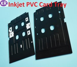 Printer Supplies Printer Parts 100 Pcs Glossy Pvc Card And 1 Pcs Card Tray For Epson R260 R265 R270 R280 R290 R380 R390 Rx680 T50 T60 A50 P50 L800 L801 R330