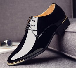 $enCountryForm.capitalKeyWord NZ - 2019 New dress shoes for men Men Oxfords patent leather men's Dress Shoes Wedding party Shoes DM99