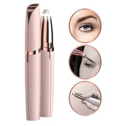 $enCountryForm.capitalKeyWord Australia - Hot Multifunction Lipstick Eyebrow Trimmer Face Brows Hair Remover Epilator Pen Mini Electric Shaver Painless Eye Brow Epilator Cleaning