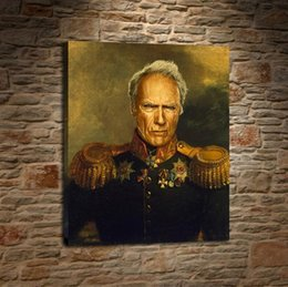 Russian Paintings Australia - Celebrities As Russian Generals,1 Pieces Home Decor HD Printed Modern Art Painting on Canvas (Unframed Framed)