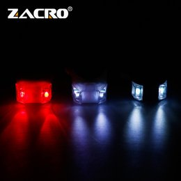 $enCountryForm.capitalKeyWord Australia - Zacro Bicycle Front Light Flash 3 Modes Silicone LED Head Front Rear Wheel Bike Light Waterproof Cycling Lights with Battery