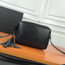 $enCountryForm.capitalKeyWord NZ - New high quality lady's handbag,embroidery letter bags,leather camera bag,leather fringe bag,22cm single shoulder camera bag,zipper bags