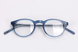 Monture de lunettes optiques de luxe-Vintage Oliver peuples ov5183 lunettes Gregory peck ov 5183 lunettes de vue montures de lunettes pour femmes et hommes en Solde