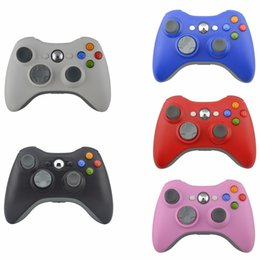 Xbox Pads NZ - 30pcs Game Controller For XBOX 2016 New Brand Wireless Gamepad Game Pad Joypad Controller for Microsoft Xbox 360 Quality YX-360-01