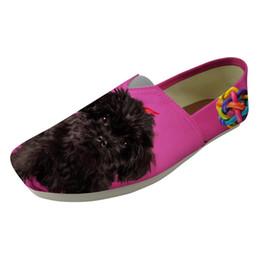 $enCountryForm.capitalKeyWord UK - 2019 Latest listing Stylish Women Flats Shoes Ladies Loafers Comfortable Light Female Lazy Sip on Flat Affenpinscher Print Shoes