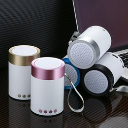 Karaoke Audio Australia - Mini y-07 Bluetooth Speaker Wireless Loudspeaker Crack LED TF USB Subwoofer bluetooth Speakers mp3 stereo audio music player
