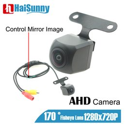 dvd display for car UK - AHD Reverse Reversing Backup Camera 1280X720P 170° Angle Night Vision Rear view Caemra For Ardriod DVD Ahd Monitor Car Display