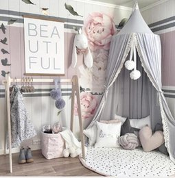 hot beds Australia - Chiffon Lace Bed Mantle INS19 New Simple Nordic Wind Hot Children's Tent Baby Decorative Mosquito Nets