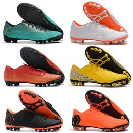 $enCountryForm.capitalKeyWord Australia - 2019 mens soccer shoes Mercurial Superfly 12 Academy CR7 AG-R outdoor soccer cleats chaussures de football boots size 39-46 cheap