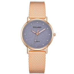 Ladies Bronze Wrist Watches Australia - Gold Sliver Mesh Silicone Watchband Watches Women Top  Casual Female Clock Ladies Wrist Watch  Reloj