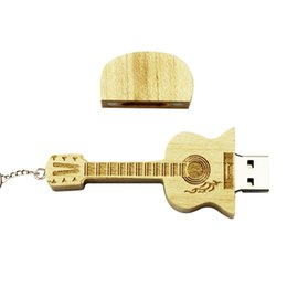 Wholesale drive guitars online – design Wooden Guitar Pen Drive Lijiang Original Music Songs With Gift Wooden Box Can Be Used As a Decoration g