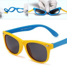 $enCountryForm.capitalKeyWord UK - Vintage Kids Sunglasses Polarized Children Baby Sun Glass Boy Girl Pink Coating Mirror Brand Designer UV400 Oculos De Sol