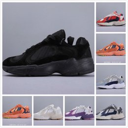 Wholsale sports online shopping - 2019 Wholsale Lovers Kanye Originals Yung Sneakers Mens Sports Running Shoes Womens Fashion Designer Daddy Trainers Male West Chaussures