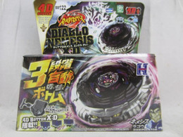 Wholesale Beyblade Pack Australia - 45 MODELS Beyblade Metal Fusion 4D With Launcher Beyblade Spinning Top Set Kids Game Toys Christmas Gift For Children Box Pack -W