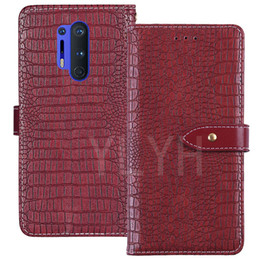 oneplus wallet Canada - YLYH TPU Silicone Protection Retro High quality Flip Leather Rubber Gel Cover Phone Case For OnePlus 7T 8 Pro Pouch Shell Wallet Etui Skin