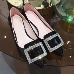 Women Silver Shoes Kitten Heel Australia - Brand new arrival womens mid heels pumps shoes women high heels Square metal with diamond heel : 4.5 cm high quality!