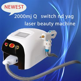 Laser Tattoo Removal Ce NZ - Professional Touch Screen ND Yag Q Switch laser Hair Tattoo removal Pigment Spot Scar Removal Skin Rejuvenation Beauty Machines CE DHL