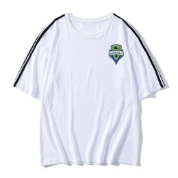 2020 fc football seattle sondeurs T-shirt de football Maillots manches courtes T-shirt de sport entraînement de football T-shirts de football T-Shirts