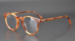 vintage prescription glasses NZ - new OV5256 Vintage Round Eyeglasses Frame Women Prescription OV 5256 Glass Men Optical Eye Glasses Frame Eyewear with original box