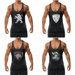 peugeot logos Australia - Men's Quick-Dry Tank Top outdoor vest Peugeot HDi PEUGEOT logo Logo 1960 - Coches car 2 Decal Sticker