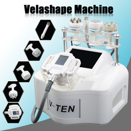 vacuum therapy body massage machine NZ - 2019 Velashape Therapy Slimming Machine Vacuum Massage Weight Loss Face Lifting Body Shaping Cavitation Radio Frequency Velashape Machine