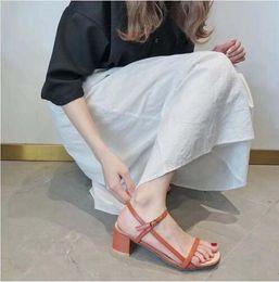 Shoe Sandal Female Australia - new Fashion Women Sandals Elegant Square Heel Shoes Large Size Women Heels Ladies Summer Sandals Female Casual Shoes