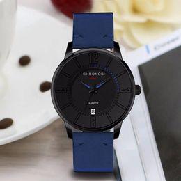 Circular Case Australia - 2019 male Quartz Watch Men Watches Top Brand Luxury Men's Glass Mirror Circular Dial Alloy Case Calendar Quartz Watch relogio