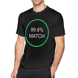 $enCountryForm.capitalKeyWord Australia - Black Mirror T Shirt Black Mirror Hang The Dj 998 Percent Match T-Shirt Summer Funny Tee Shirt Print Short Sleeve Cotton Tshirt