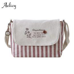Navy Striped Bags NZ - Cheap FashionAelicy high quality Brands Fashion Women  Cotton Fabric Bag Women 0fe1b6b19bcbd