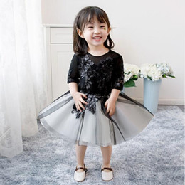 $enCountryForm.capitalKeyWord Australia - 2019 New Sequin Tulle Baby Girl Dress Newborn Clothes Prom Dresses Princess 1 Year Birthday Outfit New Born Girl Christening Baptism Gown