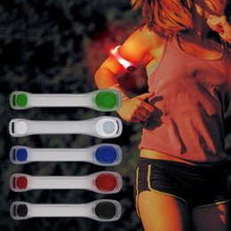 $enCountryForm.capitalKeyWord Australia - 1Pc Reflective Safety Belt Arm Strap Night Cycling Running LED Armband Light Hot Sale