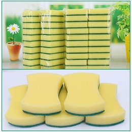 Kitchen Sponge Cloth Australia - High Density Rubber-impregnated Sponge Clean Wipe Dishwash Sponge Wipe Cleaning Cloth Sponge-block Household Kitchen