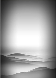 grey backdrops NZ - 5x7FT Light Gray Grey Sky Mountain Hills Custom Photo Studio Backdrop Background Vinyl 220cm x 150cm