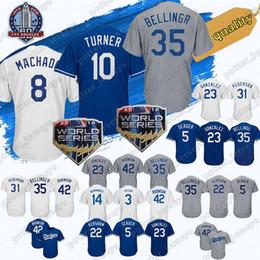 Cheap Dodger Jerseys Australia - Cheap sale 8 Manny Machado Los Angeles Dodgers  Jerseys 10 Justin 8ecb7da061b