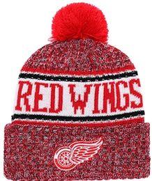 Wing Hats NZ - 2019 Ice Hockey Beanies RANGER Flyer Bruin Canadien Red Wing Black hawk Pittsburgh KING hats Cap SHARKS ISLANDER