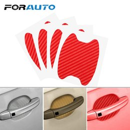 $enCountryForm.capitalKeyWord Australia - FORAUTO 4Pcs Set Car Door Sticker Auto Handle Protection Film Body Decoration Scratches Resistant Cover Car Styling