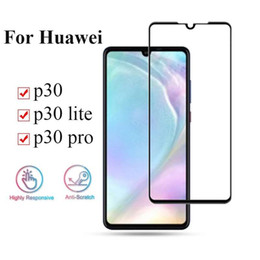 Parts For Glasses Australia - 3D Curved Privacy Tempered Glass For Huawei Mate 20 Pro Full Cover Full Glue   Color Part Glue 9H Protective film UV Liquid Screen Protector