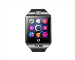Smart Watches Compatible Windows Phone Australia - 2019 Q18 Smart Watch Newest Top Selling Bluetooth GSM Camera TF Card Phone Wrist Watch for Android Suitable for Kids